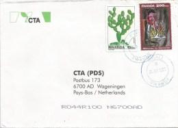 Rwanda 2001 Kigali ´G´ Genocide 200frw Cactus Succelent Cover - 1990-99: Afgestempeld