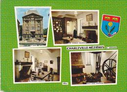 24201 Charleville Mezieres , Multi Vues Multivues-Ci 5C CIM -interieur Ardennais Vieille Forge Blason - Charleville