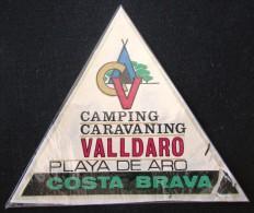 HOTEL RESIDENCIA CV VALLDARO PLAYA DE ARO COSTA BRAVA SPAIN LUGGAGE LABEL ETIQUETTE AUFKLEBER DECAL STICKER MADRID - Hotel Labels
