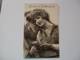 GROETEN uit GROBBENDONCK  -  Verst.1915