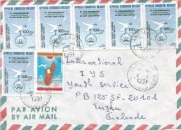 Madagascar 1991 Antalaha pigeon dove bible cover