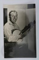 Original Vintage Real Photography Cinema/ Movie Postcard - Actor: Bing Crosby - Actores