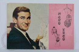 Original Vintage Cinema/ Movie Postcard - Actor: Rod Taylor - Actores