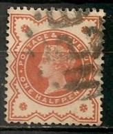 """Timbres - Grande-Bretagne - Emission Du """"Jubilé"""" - 1887-1900 - N° 91 -"""