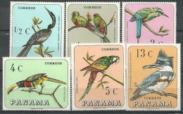 Panama: Anhinga (Anhinga Anhinga)..............Bel Ted Kingfisher (Megaceryle Alcyon) - Collections, Lots & Séries