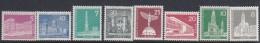Germany Berlin 1956 Definitive 15 Val MNH - [5] Berlin