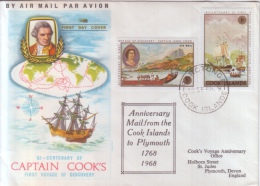 Persons - Captain James COOK - Bi-Centenary Of First Voyage Of Discovery - Famous People