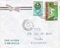 Madagascar 1990 Fianarantsoa pigeon dove Olympic Games Moscow judo cover