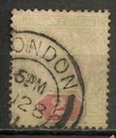 """Timbres - Grande-Bretagne - Emission Du """"Jubilé"""" - 1887-1900 - N° 94 -"""