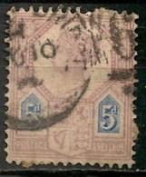 """Timbres - Grande-Bretagne - Emission Du """"Jubilé"""" - 1887-1900 - N° 99 -"""