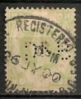 """Timbres - Grande-Bretagne - Emission Du """"Jubilé"""" - 1887-1900 - N°103 -"""