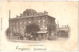 Dépt 54 - MONT-SAINT-MARTIN - Grand Hôtel Saint Martin - (tramway Au Second Plan) - Mont Saint Martin