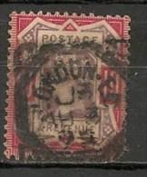 """Timbres - Grande-Bretagne - Emission Du """"Jubilé"""" - 1887-1900 - N°102 -"""