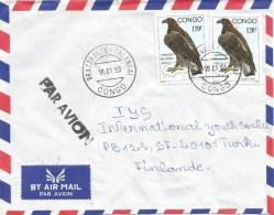 Congo 1993 Brazzaville-Talangai Cassinaetus Eagle Bird Of Prey 120f Cover - Congo - Brazzaville