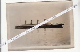 clich� Original non dat� H.S.M TITANIC - photographie originale de presse