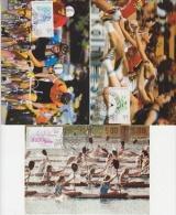 Berlin 1984 Olympic Games/ Für Den Sport 3v 3 Maximum Cards (18236) - Zomer 1984: Los Angeles
