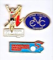 CYCLISME  (LOT DE 3 PIN'S) - Radsport