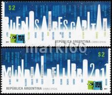 Argentina - 2011 - Buenos Aires - World Book Capital Of 2011 - Mint Stamp Set - Ungebraucht