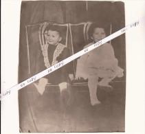 HSM TITANIC - clich� de presse - les deux enfants NAVRATIL - rescap�s du naufrage