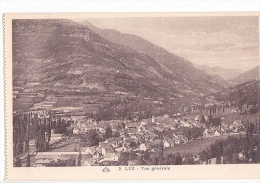 24205 LUZ  Lot 6 Cpa Chateau Marie, Vue Generale, Monument Morts, Eglise Templiers, Portail Chapelle- CPA