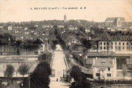 CPA RENNES - VUE GENERALE - Rennes