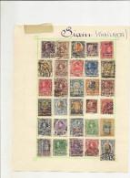 Siam - Petite Collection De Timbres Oblitérés Anciens (65) A Voir En Bon état , ......................................