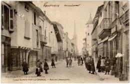 Sainte Foy La Grande - Rue De Langalerie - Autres Communes