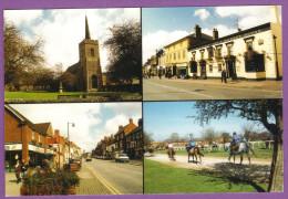 NEWMARKET - St-Mary's Church High Street Waggon & Horses Inn and Market House Daily Exercise