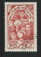 1936 - YVERT N° 312 OBLITERATION LEGERE - COTE = 5.35 EUR. - France