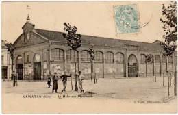 Samatan - La Halle Aux Marchands ( Tapie édit.) - France