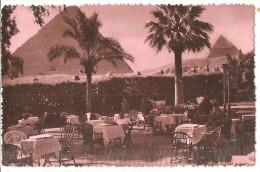 LE CAIRE Panorama Des Pyramides Vue Du Mena House Hotel - Le Caire