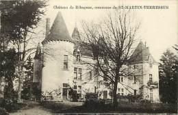 Dept Div- Haute Vienne -ref- V635 -  Chateau De Ribagnac Commune De Saint Martin Terressus - St Martin Terressus - - France