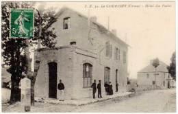 La Courtine - Hôtel Des Postes ( Borne Kilométrique ) - La Courtine