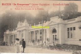 CPA PUBLICITE ELIXIR DE KEMPENAAR EXPOSITION UNIVERSELLE DE BRUXELLES 1910 PALAIS DES TRAVAUX DE LA FEMME - Expositions
