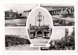 29  PLOUGASTEL  -  MULTI VUES    -  CPM 1950/60 - Plougastel-Daoulas