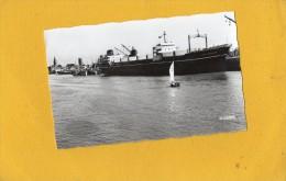 Dunkerque 59  Bateau / Cargo  Le Jean Schneider à Quai - Dunkerque