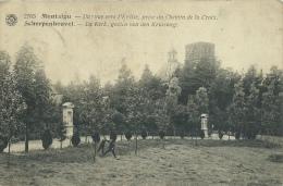 Scherpenheuvel - De Kerk, Gezien Van Den Kruisweg - 1921  ( Verso Zien ) - Scherpenheuvel-Zichem