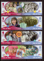 ISLE OF MAN 2010 CENTENARY OF GIRL GUIDES UNMOUNTED MINT, MNH - Isla De Man
