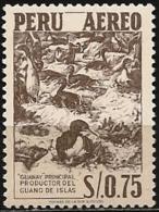 Peru/Pérou: Cormorano, Guano, Concime, Cormorant Guano, Manure, Guano Cormorant, Le Fumier - Albatrosse & Sturmvögel