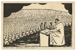 WAR 1939-45 - E Stalin Falou: « Queridos Irmãos E Irmãs !»     Cartes  Postales - Weltkrieg 1939-45