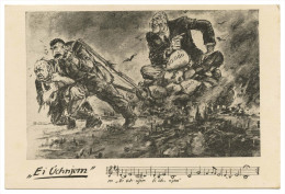 "WAR 1939-45 - "" Ei Úchnjem""   Cartes  Postales - Weltkrieg 1939-45"