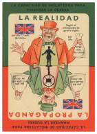 WAR 1939-45 - La Realidad  La Propaganda      Cartes  Postales - Weltkrieg 1939-45