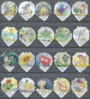 626 B - Contes des fleurs - Serie complete de 20 opercules Suisse
