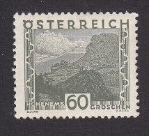 Austria, Scott # 337, Mint Hinged, Scenes Of Austria, Issued 1929 - Ungebraucht