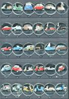 1162 C - Scooters (auto moto) - Serie complete de 30 opercules Suisse SANS Emmi