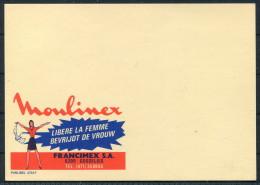 1970s Belgium Advertising Stationery Postcard Essay - MOULINEX Publibel 2723 F - Publibels