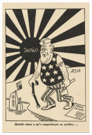 WAR 1939-45  - Quando Nasce O Sol     Cartes  Postales - Weltkrieg 1939-45