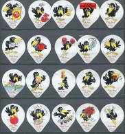 PS 5/93 - Pick Pay (Oiseau) - Serie complete de 20 opercules Suisse