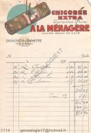 N 59 CAMBRAI NORD 193. Ets DUROYON - RAMETTE Publicit� CHICOREE A LA MENAGERE