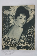 Old 1950´s Small Magazine Cinema/ Movie Actors - 28 Pages, 12 X 16 Cm - Actress: Gina Lollobrigida - Revistas
